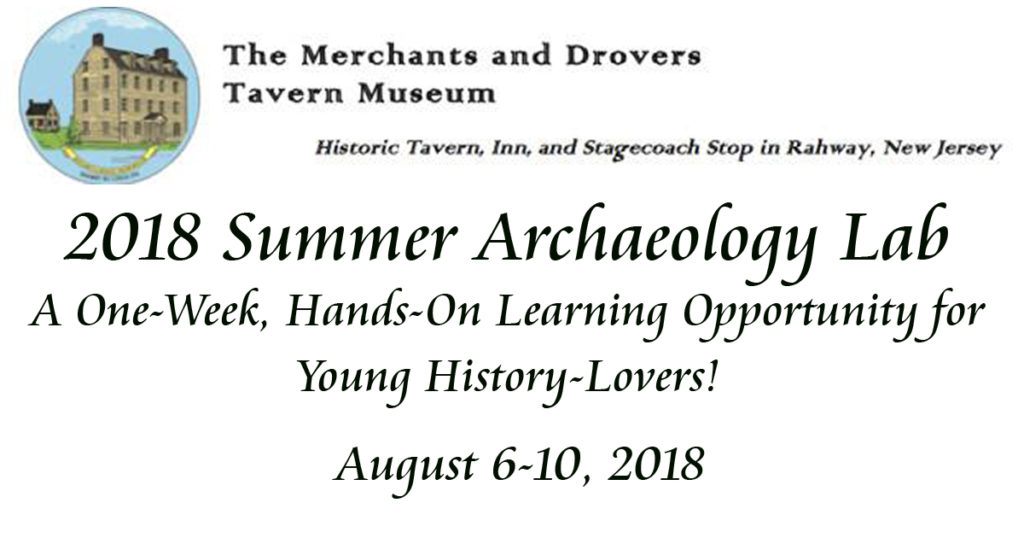 2018 Summer Archaeology Lab