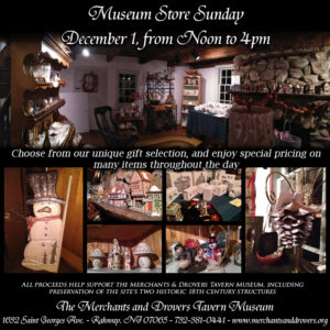Museum Store Sunday at the Terrill Gift Shop @ Merchants and Drovers Terrill Tavern Gift Shop