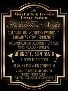 Prohibition Night - CANCELLED